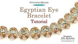 How to Bead / Free Video Tutorials / Bracelet Projects / Egyptian Eye Bracelet Tutorial