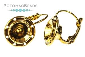 Jewelry Making Supplies & Beads / Metal Beads & Beads Findings / Headpins & Earwires / Claspgarten Ear Wires