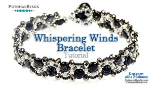 How to Bead Jewelry / Beading Tutorials & Jewel Making Videos / Bracelet Projects / Whispering Winds Bracelet Tutorial