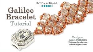 How to Bead Jewelry / Beading Tutorials & Jewel Making Videos / Bracelet Projects / Galilee Bracelet Tutorial