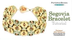 How to Bead Jewelry / Beading Tutorials & Jewel Making Videos / Bracelet Projects / Segovia Bracelet Tutorial