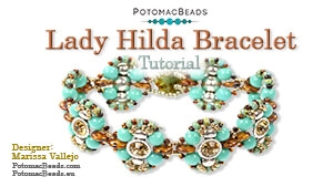 How to Bead / Free Video Tutorials / Bracelet Projects / Lady Hilda Bracelet Tutorial