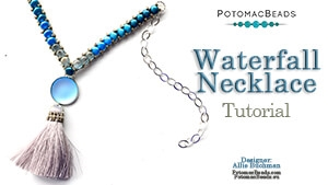 How to Bead / Free Video Tutorials / Necklace Projects / Waterfall Necklace Tutorial