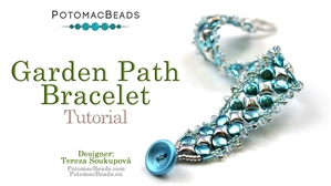 How to Bead / Free Video Tutorials / Bracelet Projects / Garden Path Bracelet Tutorial