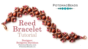 How to Bead / Free Video Tutorials / Bracelet Projects / Reed Bracelet Tutorial