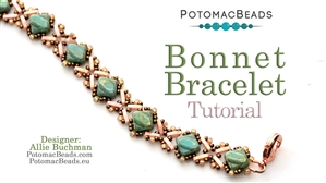 How to Bead / Free Video Tutorials / Bracelet Projects / Bonnet Bracelet Tutorial