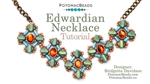 How to Bead / Free Video Tutorials / Necklace Projects / Edwardian Necklace Tutorial
