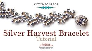 How to Bead Jewelry / Beading Tutorials & Jewel Making Videos / Bracelet Projects / Silver Harvest Bracelet Tutorial
