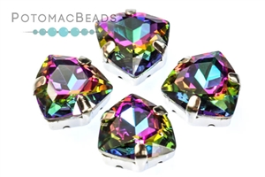 Jewelry Making Supplies & Beads / Beads and Crystals / Trillion Crystals in Settings