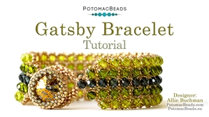 How to Bead / Free Video Tutorials / Bracelet Projects / Gatsby Bracelet Tutorial