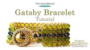 How to Bead Jewelry / Beading Tutorials & Jewel Making Videos / Bracelet Projects / Gatsby Bracelet Tutorial