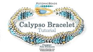 How to Bead / Free Video Tutorials / Bracelet Projects / Calypso Bracelet Tutorial