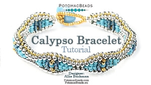 How to Bead / Free Video Tutorials / Bracelet Projects / Calypso Bracelet Tutorial