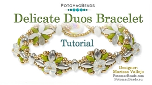 How to Bead Jewelry / Beading Tutorials & Jewel Making Videos / Bracelet Projects / Delicate Duos Bracelet Tutorial
