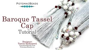 How to Bead / Free Video Tutorials / Beadweaving & Component Projects / Baroque Tassel Cap Tutorial