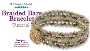 How to Bead / Free Video Tutorials / Bracelet Projects / Braided Bars Bracelet Tutorial