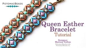 How to Bead Jewelry / Beading Tutorials & Jewel Making Videos / Bracelet Projects / Queen Esther Bracelet Tutorial