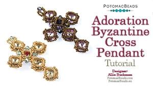 How to Bead Jewelry / Beading Tutorials & Jewel Making Videos / Pendant Projects / Adoration Byzantine Cross Pendant Tutorial