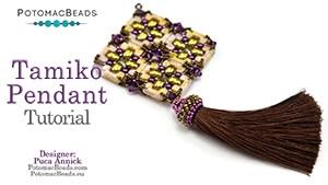How to Bead Jewelry / Beading Tutorials & Jewel Making Videos / Pendant Projects / Tamiko Pendant Tutorial