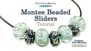 How to Bead Jewelry / Beading Tutorials & Jewel Making Videos / Bead Weaving Tutorials & Necklace Tutorial / Montee Beaded Sliders Tutorial