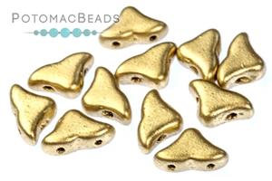 Czech Pressed Glass Beads / Czech Glass & Japanese Two Hole Beads / Helios par Puca® Beads