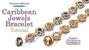 How to Bead / Free Video Tutorials / Bracelet Projects / Caribbean Jewels Bracelet Tutorial