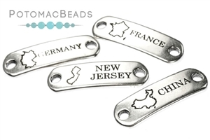 Jewelry Making Supplies & Beads / Metal Beads & Beads Findings / Destination Tags