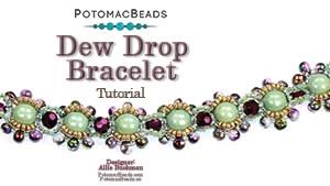 How to Bead Jewelry / Beading Tutorials & Jewel Making Videos / Bracelet Projects / Dew Drop Bracelet Tutorial