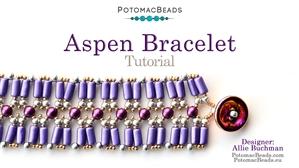 How to Bead / Free Video Tutorials / Bracelet Projects / Aspen Bracelet Tutorial