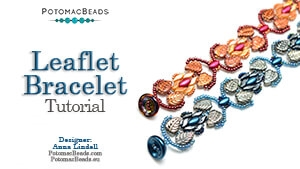 How to Bead / Free Video Tutorials / Bracelet Projects / Leaflet Bracelet Tutorial