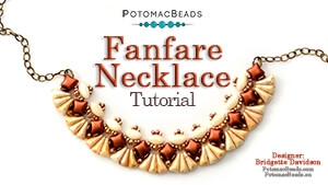 How to Bead / Free Video Tutorials / Necklace Projects / Fanfare Necklace Tutorial