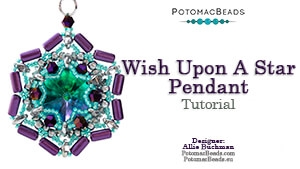 How to Bead Jewelry / Beading Tutorials & Jewel Making Videos / Pendant Projects / Wish Upon A Star Pendant
