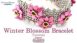 How to Bead Jewelry / Beading Tutorials & Jewel Making Videos / Bracelet Projects / Winter Blossom Bracelet