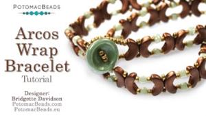 How to Bead Jewelry / Beading Tutorials & Jewel Making Videos / Bracelet Projects / Arcos Wrap Bracelet Tutorial