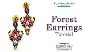 How to Bead / Free Video Tutorials / Earring Projects / Forest Earrings Tutorial