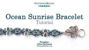 How to Bead Jewelry / Beading Tutorials & Jewel Making Videos / Bracelet Projects / Ocean Sunrise Bracelet Tutorial