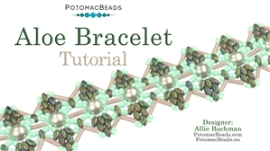 How to Bead / Free Video Tutorials / Bracelet Projects / Aloe Bracelet Tutorial