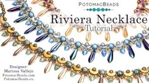 How to Bead Jewelry / Beading Tutorials & Jewel Making Videos / Bead Weaving Tutorials & Necklace Tutorial / Riviera Necklace Tutorial