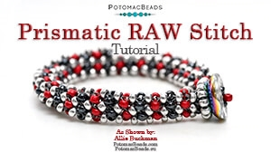 How to Bead / Free Video Tutorials / Bracelet Projects / Prismatic Right Angle Weave Stitch