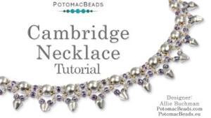 How to Bead Jewelry / Beading Tutorials & Jewel Making Videos / Bead Weaving Tutorials & Necklace Tutorial / Cambridge Necklace Tutorial