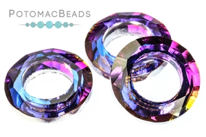Jewelry Making Supplies & Beads / Beads and Crystals / Potomac Crystal Cosmic Rings