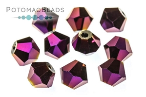 Jewelry Making Supplies & Beads / Beads and Crystals / Bicones CrystalBeads / Potomac Crystal Bicones 6mm