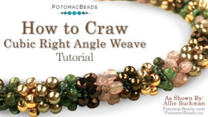 How to Bead / Free Video Tutorials / Bracelet Projects / CRAW Stitch Tutorial