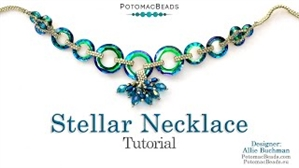 How to Bead Jewelry / Beading Tutorials & Jewel Making Videos / Bead Weaving Tutorials & Necklace Tutorial / Stellar Necklace Tutorial