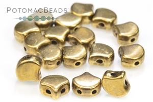 Other Beads & Supplies / Metal Beads & Findings / Potomax Metal Multi-Hole Beads / Potomax Ginko Metal Beads
