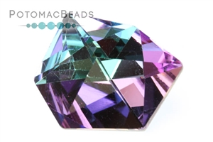 Jewelry Making Supplies & Beads / Beads and Crystals / Crystal Tilted Dice Stone