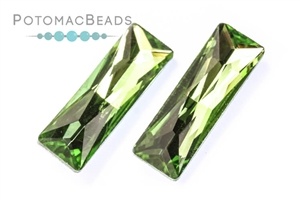 Jewelry Making Supplies & Beads / Beads and Crystals / Crystal Baguette Stone