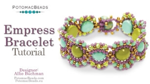 How to Bead Jewelry / Beading Tutorials & Jewel Making Videos / Bracelet Projects / Empress Bracelet Tutorial