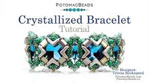 How to Bead Jewelry / Videos Sorted by Beads / EVA® Bead Videos / Crystallized Bracelet Tutorial