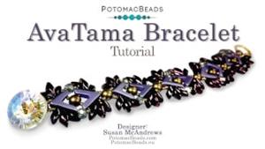 How to Bead Jewelry / Videos Sorted by Beads / RounDuo® & RounDuo® Mini Bead Videos / AvaTama Bracelet Tutorial